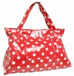 Au Maison Travel Bag In Red Polka Dot