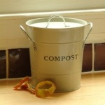Garden Trading Compost Bucket In Clay